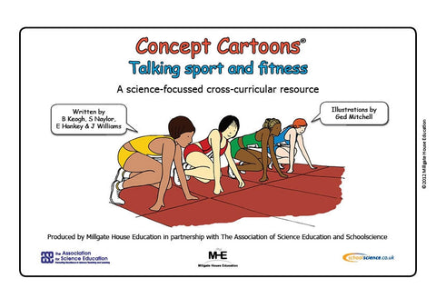 Talking Sport and Fitness Concept Cartoons®