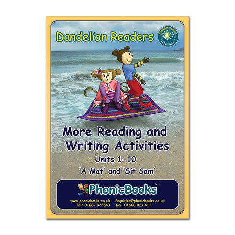 WR2 - Sets 2 & 3 Workbook - Units 1-10 Dandelion Readers