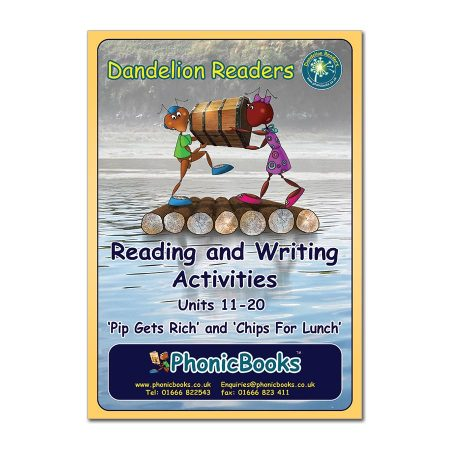 Dandelion Readers, Set 1 & 2 Units 11-20 Reading & Writing Activities