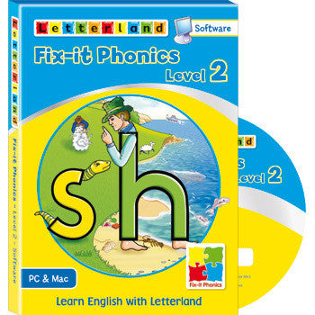 Level 2 Fix-it Phonics  - Software (CD-Rom)