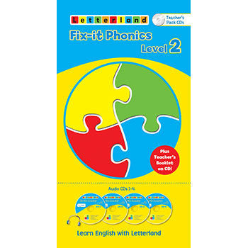 Level 2 Fix-it Phonics  - Audio CD Pack