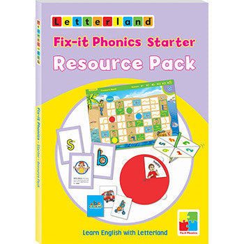 Fix-it Phonics Starter level - Resource Pack