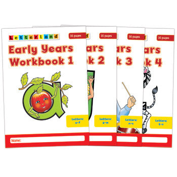 Early Years Workbook 1-4
