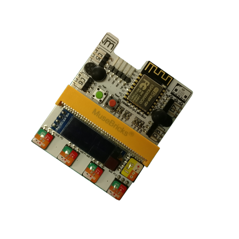 IOT & Robotic Shield  (version 2)  for the BBC micro:bit, battery powered