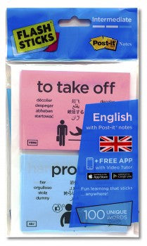 FlashSticks English Intermediate