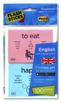FlashSticks English Beginner