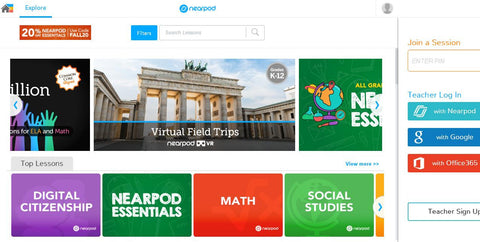 Nearpod Ready-to-Teach Lessons