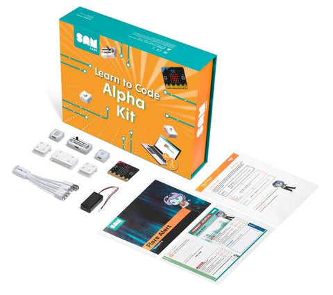 SAM Labs Learn to Code with Micro:bit Alpha Kit
