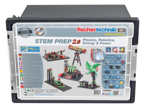 STEM PREP 2.0  - Physics, Robotics, Energy and Power Set