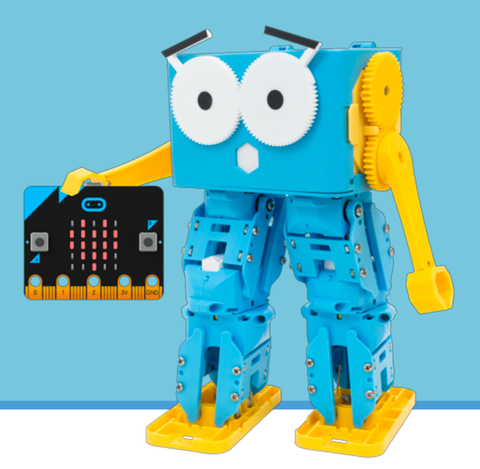 Marty the Robot (using Scratch 3/ Micro:bit/Python)