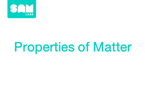 3.1 物質的性質 Properties of Matter