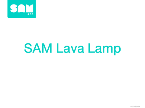 3.8  熔岩燈 SAM Lava Lamp