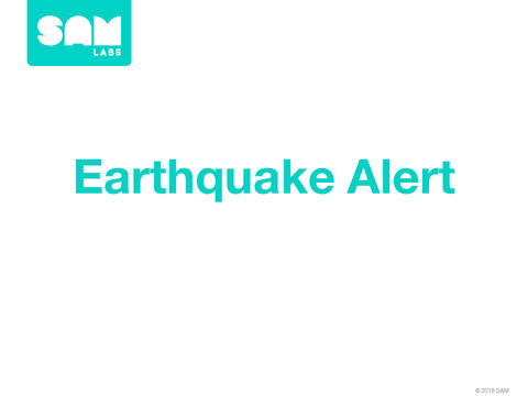 1.8  地震警報 Earthquake Alert