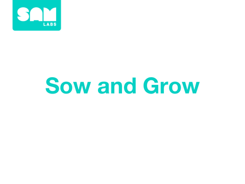 2.3   播種生長 Sow and Grow