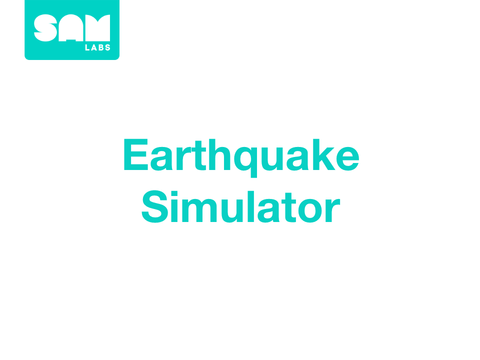 3.4 地震模擬器  Earthquake Simulator