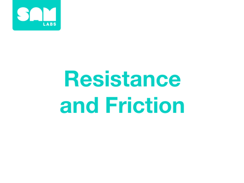 2.4 阻力與摩擦力 Resistance and Friction