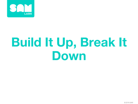 1.6 房子牢固性測試 Build it up, break it down