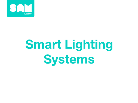 1.4  智能照明系統  Smart Lighting Systems