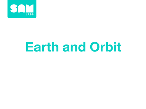 4.2 地球和軌跡 Earth and Orbit