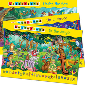 Letterland Adventure posters