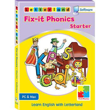 Fix-it Phonics Starter level - Software