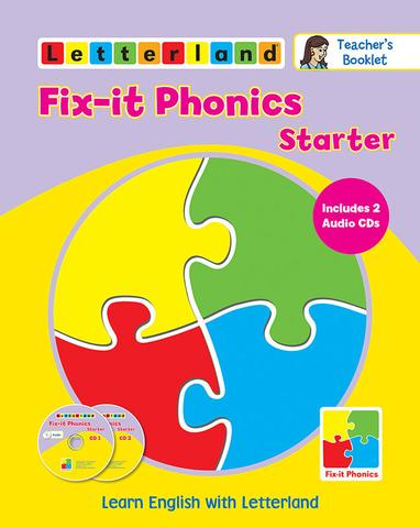 Fix-it Phonics Starter level - Teacher's Booklet with CDs