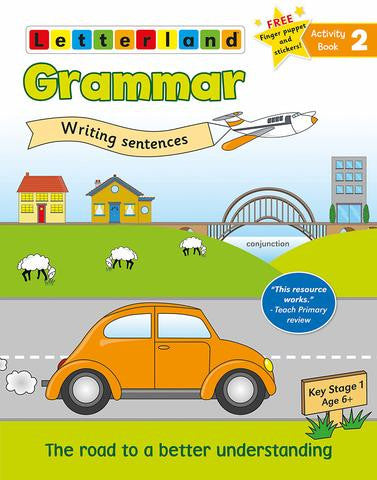 Grammar Activity book 2 - writing sentences