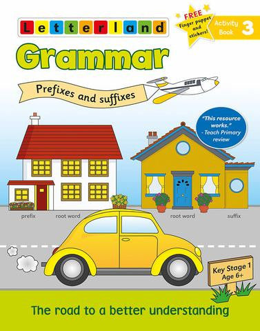 Grammar Activity book 3 - prefixes and suffixes