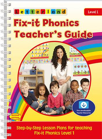 Letterland Level 1 Fix-It Phonics  (2nd Edition)  Teacher's Guide