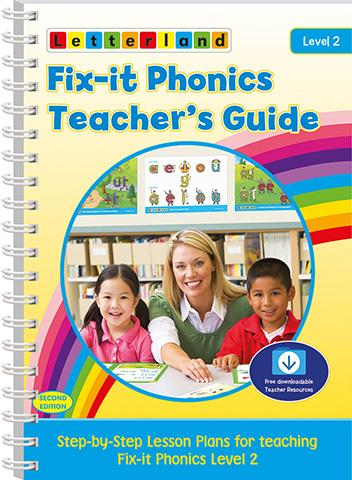 Level 2 Fix-it Phonics Teacher's Guide (2nd Edition)