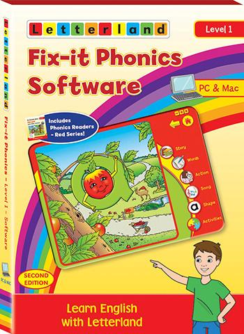 Level 1 Fix-it Phonics Software (2nd Edition)