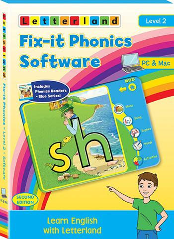 Level 2 Fix-it Phonics Software  (2nd Edition)