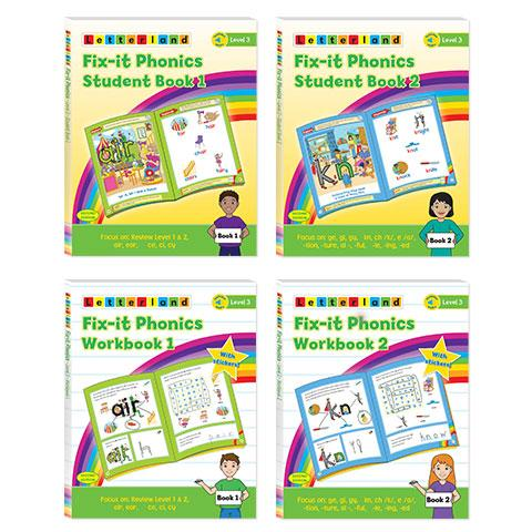 Level 3 Fix-it Phonics Student Pack (2nd edition)