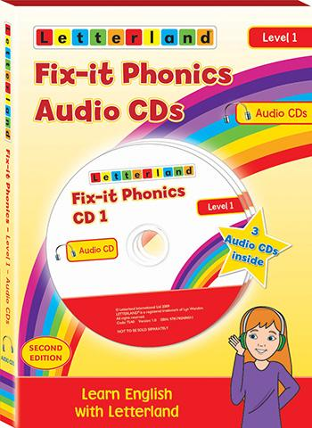 Level 1 Fix-It Phonics Audio CD Pack (2nd Edition)