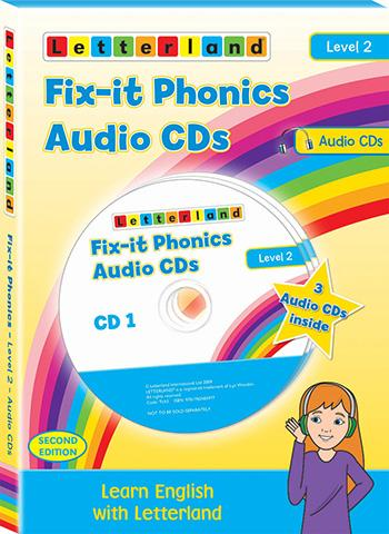 Level 2 Fix-It Phonics Audio CD Pack (2nd Edition)
