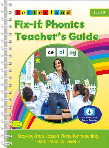 Level 3 Fix-It Phonics Teacher's Guide (2nd Edition)
