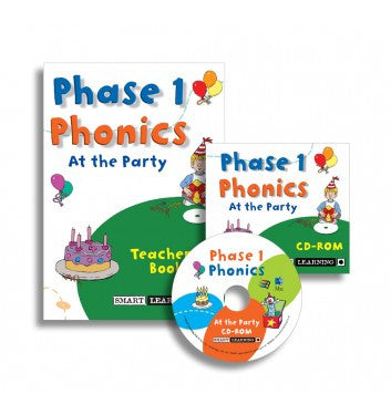 Phase 1 Phonics ‐ At the Party (Disc 5)