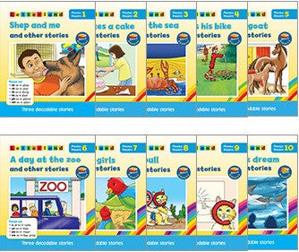 Letterland phonics readers - Blue