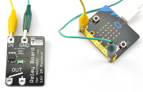Low Voltage Relay for the Micro:bit (solid state)