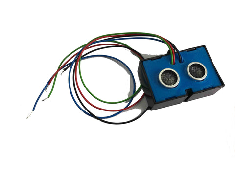 Ultrasonic sensor with casing and cables, 3.3v