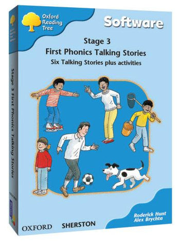 ORT Stage 3 First Phonics Talking Stories CD-Rom (6 stories)