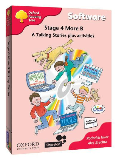 ORT Stage 4 More B Talking Stories CD-Rom (6 stories)