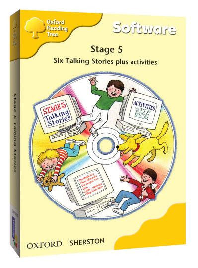 ORT Stage 5 Talking Stories CD-Rom (6 stories)