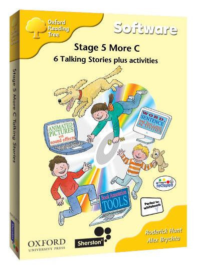 ORT Stage 5 More C Talking Stories CD-Rom (6 stories)