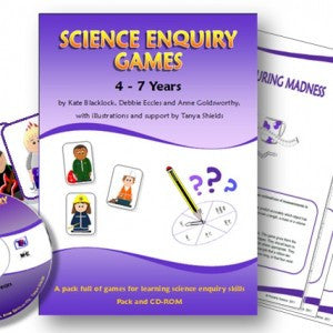 Science Enquiry Games age 4-7