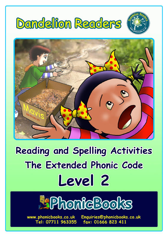 WR16-Level 2 Reading & Spelling Activities Photocopy-master
