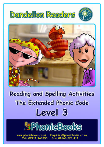 WR17-Level 3 Reading & Spelling Activities Photocopy-master