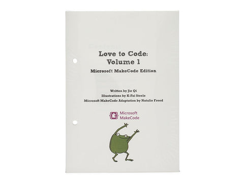 Love to Code Volume 1 Book Refill: Microsoft MakeCode Edition