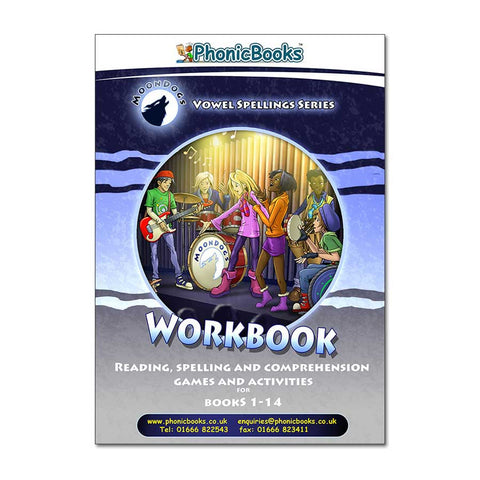 WMD3 - Moon Dogs Workbook set 3