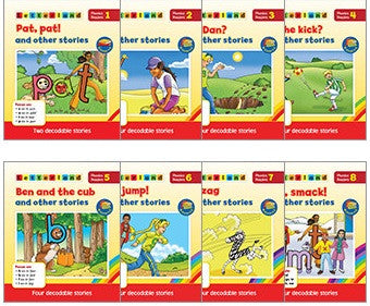 Letterland phonics readers - Red